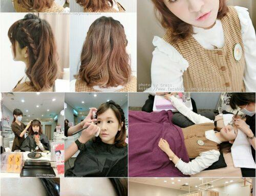 分享。來自日本的沙龍氣氛美人工場超快速一次搞定美睫+美甲+妝髮造型