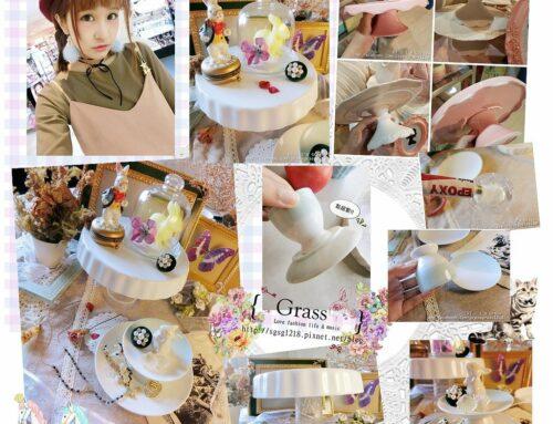 手作。超詐欺!!必學自製DIY陶瓷餐盤改造佈置大法!!(婚禮佈置/飾品收納/點心架/大創)